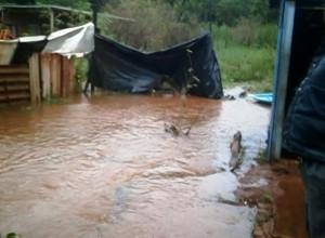En Eldorado trabajan para recomponer caminos luego del temporal