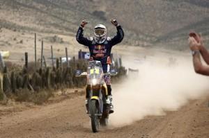Al Attiyah, Coma y Sonik son los nuevos campeones del Dakar 2015