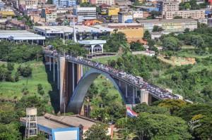 Puente de la Amistad: desde el 15 de enero tendrá una sola pista habilitada