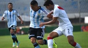 Argentina le ganó 2 a 0 a Perú por el hexagonal final del Sudamericano Sub-20