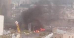 Kamikazes se detonan en un lujoso hotel de Trípoli: 9 muertos