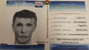 El identikit del nuevo sospechoso por el caso Lola