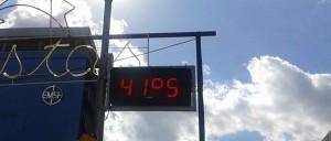 El calor no da tregua: 41° en el corazón de Posadas