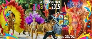 Carnavales 2015: En San Ignacio comienza la previa esta noche