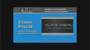 La clave fiscal se podrá obtener por cajero automático