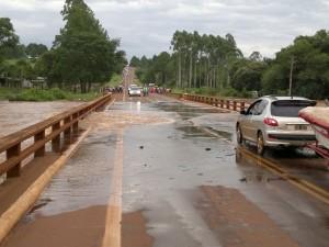 Habilitan parcialmente el tránsito sobre arroyo Garuhapé