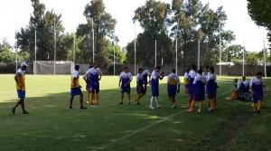 Schurrer ya piensa cómo neutralizar al Vélez de Russo el sábado, en el verdadero debut en Primera