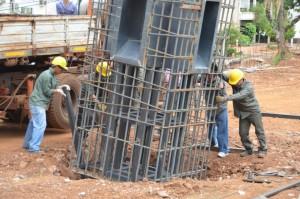 """Se instaló el monumento  """"Memoria, Verdad y Justicia"""" y avanzan las obras en la plazoleta donde funcionaba el comedor universitario"""