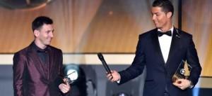 """Messi admitió que la distinción a Ronaldo """"fue un premio merecido"""""""