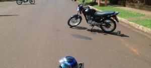 Una peatón sufrió graves lesiones al ser atropellada por una moto en Iguazú