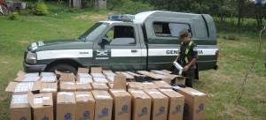Decomisaron cigarrillos contrabandeados en Misiones y en Formosa