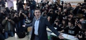 La izquierda gana los comicios en Grecia y podría obtener la mayoría absoluta