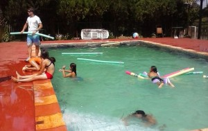 Los chicos del Hogar de Día de Puerto Iguazú, a pleno con su colonia de vacaciones