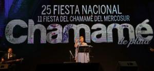 Con la bendición del Pai Julián Zini, la Fiesta Nacional del Chamamé inició sus bodas de plata
