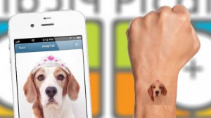 ¿Tenés Instagram?: una app permite convertir las fotos en tatuajes temporales