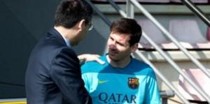 """Bartomeu aclaró que """"no hay debate sobre el futuro de Messi"""""""