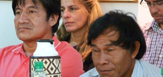 Críticas de caciques de comunidades Mbyá Guaraní  a la gestión de Asuntos Guaraníes