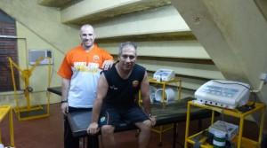 Cómo trabajan el médico y el kinesiólogo de Crucero para recuperar a Enzo Bruno, el habilidoso de Guaraní