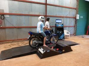 En Posadas hay 45 mil motos, por eso estiman necesarios dos talleres para la verificación