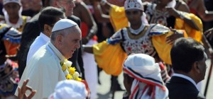 El papa Francisco pidió en Sri Lanka respeto entre religiones para conseguir reconciliación y paz