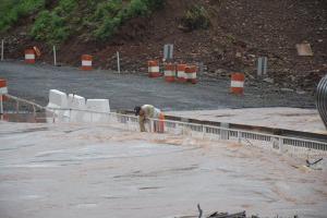 Vialidad Provincial actualizó un relevamiento de las rutas, después del temporal