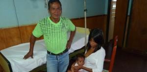 La beba guaraní que será operada por una cardiopatía tiene dos hermanitos fallecidos