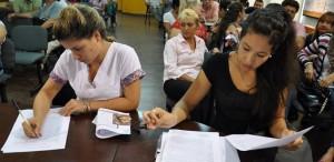 Unos 95 agentes sanitarios de Zona Capital renovaron sus contratos