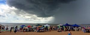 Encarnación: El centro de cambios climáticos y tormentas eléctricas