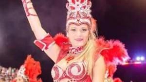 Diosas posadeñas en el carnaval de Encarnación: <em>para Evelín, bailar está en sus genes</em>