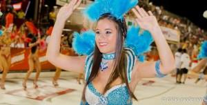 Diosas posadeñas en el carnaval de Encarnación: <em>Sol se apasiona bailando</em>