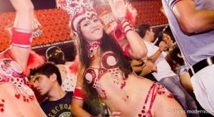 Diosas posadeñas en el carnaval de Encarnación: <em>Maru es pasión bailando</em>