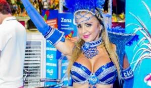 Diosas posadeñas en el carnaval de Encarnación: <em>Caro está encantada</em>