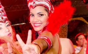 Diosas posadeñas en el carnaval de Encarnación:<em> Chamy siente libertad</em>