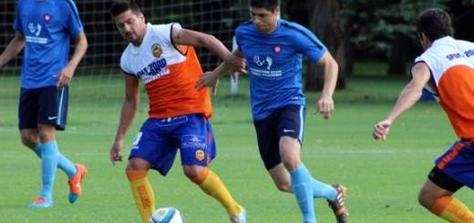 Crucero se entrenó en Ezeiza tras el amistoso de ayer con Cerro Porteño