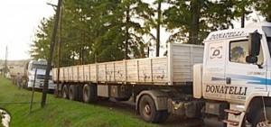 Camioneros afirman que Arauco avala incumplimientos en sus tercerizadas