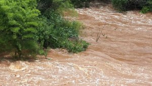 Misiones volvió a ser afectada por un fuerte temporal y hay un desaparecido en Oberá