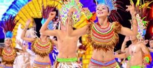 Arrancó el imponente carnaval de Encarnación, el principal espectáculo del Paraguay