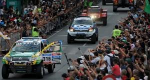 Fiebre por el Dakar 2015 en Buenos Aires; arranca la carrera desde Baradero