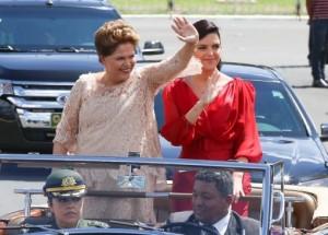 Rousseff asumió su segundo mandato como presidenta de Brasil