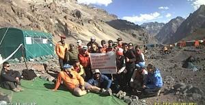 """""""Expedición Aconcagua"""" continuará mañana el ascenso hacia Nido de Cóndores"""