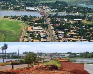 Avanzan los trabajos para la construcción de la colectora sobre el arroyo El Zaimán en la ruta N°12