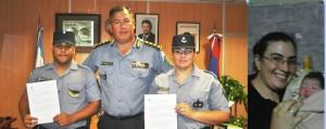Jefatura de Policía felicitó a efectivos que asistieron a una mujer en trabajo de parto