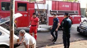 Bomberos sofocaron un principio de incendio en Colón y Tucumán