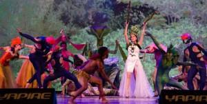 Los bailarines de Luis Marinoni fueron ovacionados en el 25° Festival nacional del Chamamé