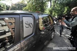 """""""Vos entregaste todo en esta lucha"""", dijo la viuda de Nisman durante la inhumación"""