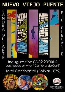 """La semana que viene el hotel Continental abrirá las puertas de la muestra """"Nuevo Viejo Puente"""""""