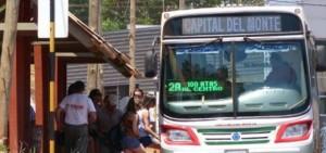 Transporte en Oberá: Capital del Monte volverá a cobrar 2,50 pesos a jubilados