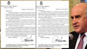 Por instrucción de Cristina, Parrilli pidió desclasificar los archivos de la ex SIDE sobre la AMIA