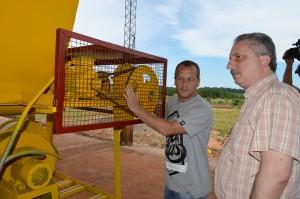 Passalacqua visitó la Cooperativa Agrícola Km 16 de Oberá