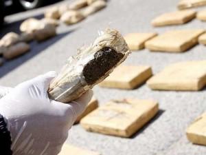Capturaron a un hombre con 350 kilos de marihuana y con un auto robado en Buenos Aires